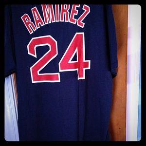 Ramirez red sox shirt